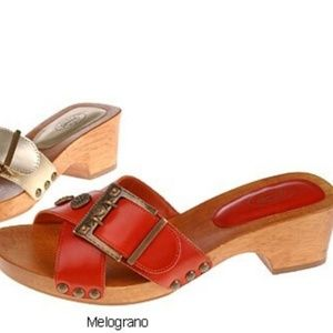 The Original Dr Scholl's Women 6 Wooden